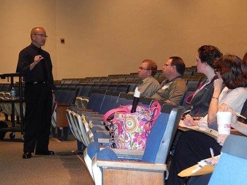 O. David Deitz speaks to members of PMEA D9 at our Professional Development Day 2014