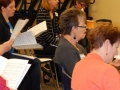 Choral read-through